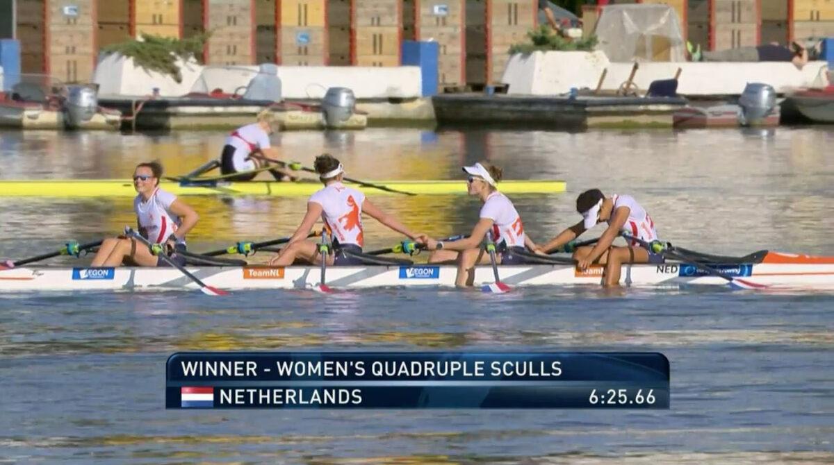 Inge wordt Europees kampioen!