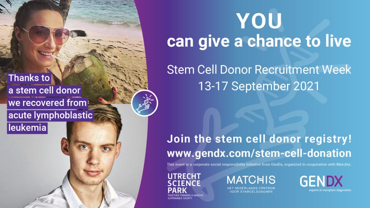 GenDx Stem Cell Donor Recruitment Week